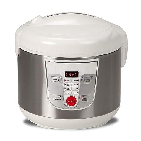 Exceptional NEWCOOK Robot De Cocina Multifunción, Capacidad 5 Litros, Programable Hasta  24H, Cocina Automáticamente
