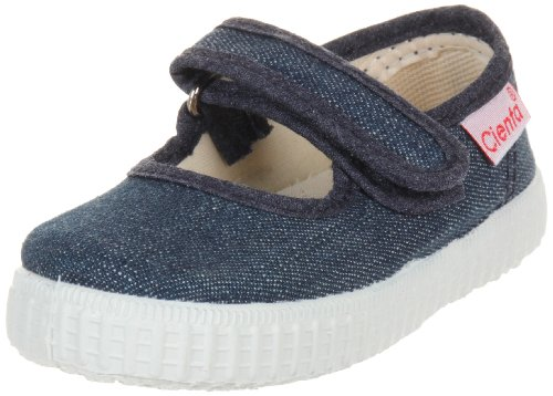Cienta girls Mary Jane Shoe, Denim, 27 M EU / 9.5 M US Toddler