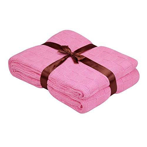 EtechMart Eco friendly Natural Knitted Blanket product image