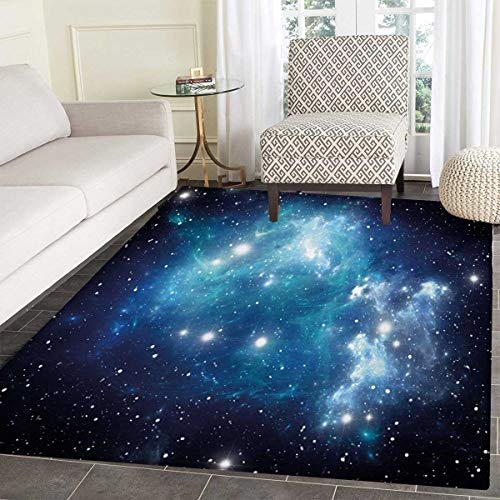 - Space Bath Mat Non Slip Vibrant Celestial Supernova Scenery Dynamic Energy Andromeda Mystical Outer Space Picture Customize Door mats Home Mat 55