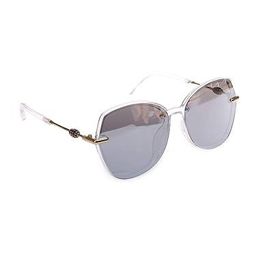 La Modeuse - Gafas de sol transparentes con cristales de ...