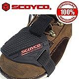 Scoyco Fs02 Gear Shift Shoes Protector Black With Original Hologram Sticker