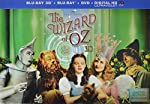 Cover Image for 'The Wizard of Oz: 75th Anniversary Limited Collector's Edition (Blu-ray 3D / Blu-ray / DVD / UltraViolet  + Amazon-Exclusive Flash Drive)'