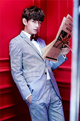 Fanstown BTS bangtan boys Poster in the Mood for Love A3 size thicken coated