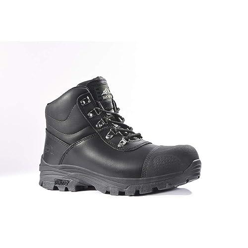 Src S3 Stiefel Granit Hro Mit Fall Wasserdicht Stahlkappe Rock Sicherheit Schwarz Rf170 3L4Ajq5R