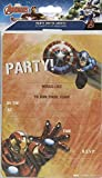 Avengers Pack Of 20 Party Invitations Marvel Iron Man Captain America