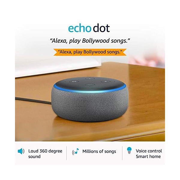 51XgvXEkX6L Echo Dot (3rd Gen) – Smart speaker with Alexa (Grey)