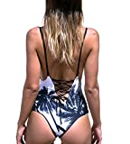 Qpladlse-Swimwear-Womens-One-Piece-Swimsuit-Reversible-Lace-Up-BathingSuitFBA