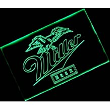 Miller Beer with (16 kinds of flashing mode+remote control) Neon Light Sign