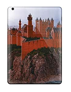 Hot Tpu Cover Case For Ipad Air Case Cover Skin The Red Fortress