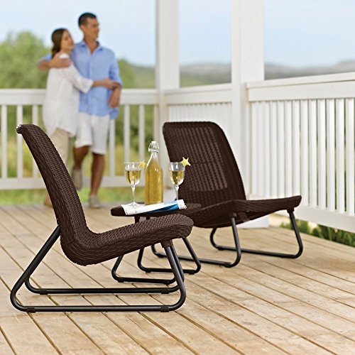 Keter Rio 3 Piece Patio Set (Keter 3 Piece Rio Patio Set)