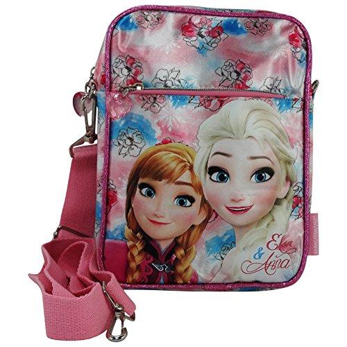 Disney Frozen Magic Borsa a Spalla a Tracolla Porta Tablet Ipad Ebook