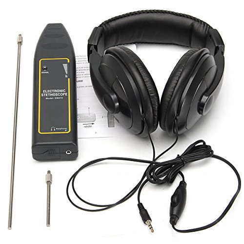Electronic Stethoscope Earphone Leak Detector Water Pipe Detection Equipment Kit - Measurement & Analysis Instruments Other Instruments- 1 x Electronic Stethoscope, 1 x -
