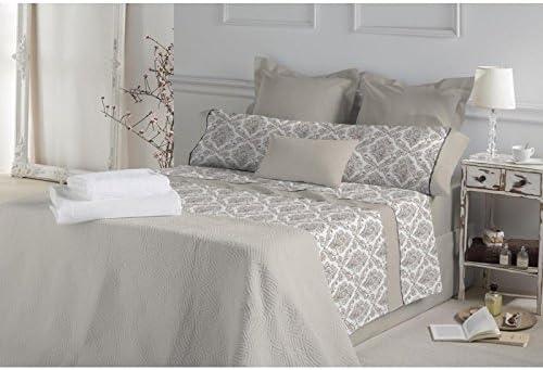 Don Algodón.- Juego de sábanas Anouk color Beige para cama de 90: Amazon.es: Hogar