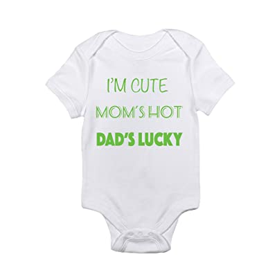 Baby's Dad's Lucky Onesie onesie