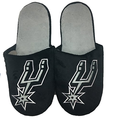 NBA San Antonio Spurs Men's Team Big Logo Slippers Large (11-12)