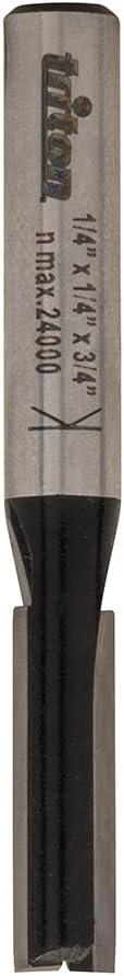 Triton TPTA61996081 1//4 x 5//8 x 3//4-Inch Diameter Straight Bit Silver