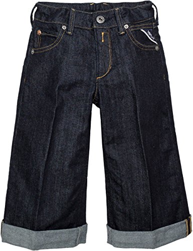 Replay Girls Dark Blue Flared Jeans in Size 12 Years Blue by Replay