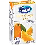 Ocean Spray 100% Orange Juice Drink, 4.2 Ounce Juice Boxes (Pack of 40)
