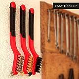 Lavaxon Wire Brush Set 3Pcs - Nylon/Brass/Stainless