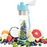 BOZ Fruit Infuser Water Bottle, BPA-Free, Fruit Infused Water with Recipe eBook