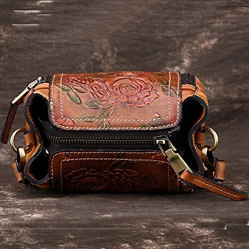 Naturelle Crossbody Lady Bag Pour tout Avec Femmes Sac Bandoulière En Fourre À Porte Main Peau Zmyz monnaie A Pu Messenger qI76PR