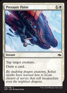 Magic: the Gathering - Pressure Point (021/185) - Fate - Card Advantage Points