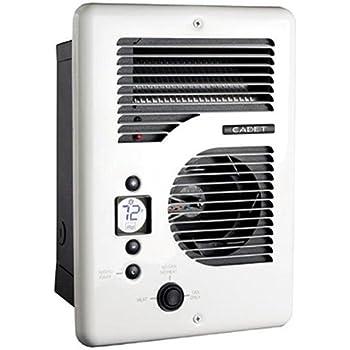 Cadet Cec163tw Energy Plus Multi Watt 120 240v Wall Heater