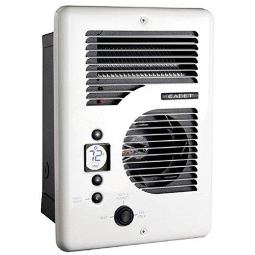 Cadet CEC163TW Energy Plus multi-watt 120/240V wall heater with electronic thermostat, white [並行輸入品] B0093GQLTG