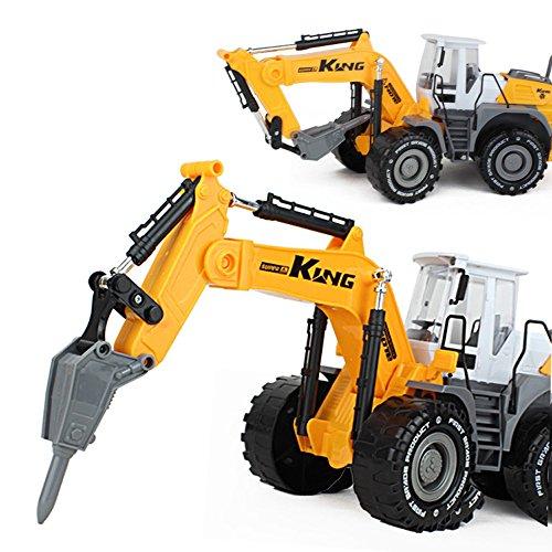 AITING Children Inertia Drilling Hammer Crusher Excavator Vehicle (Impact Hammer Toy Truck)
