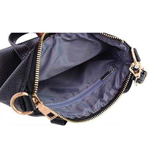 Purse PU Purse Shoulder Leather Vintage Bag Shoulder Bag Mini Wallet Black Women Purse Fashion Familizo Large Handbags Tote Bags Ladies Messenger Handbag Bags Ladies Totes Handbag wq7WCntEzP