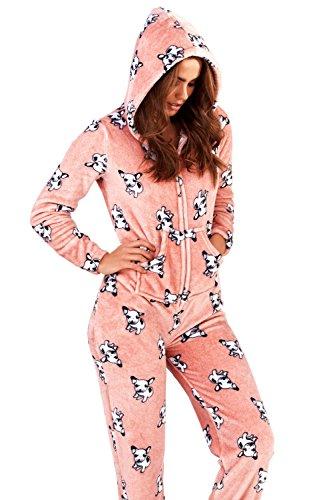Dannii Matthews - Pijama de una pieza - para mujer: Amazon.es: Ropa y accesorios