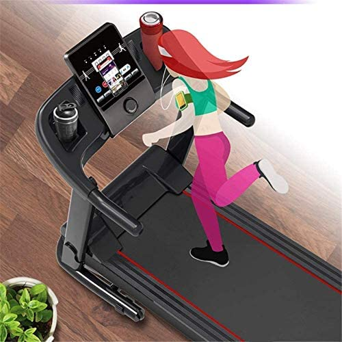 Running Machines Foldable Electric Running Machines, Treadmills for Home, Multi-Function Treadmills,Home Comfortable Fitness Equipment Electric Treadmill Motorised Running Machine With Incline Electri 3