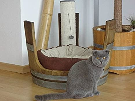 Junit botte di vino gatti cani sgabello per gatto cuscino gatto