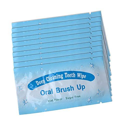 Generic Dental Whitening Wipes Fresh Breath Finger Teeth Brush Ups-50 PCS by AZDENT-Teeth Whitening: Amazon.es: Salud y cuidado personal