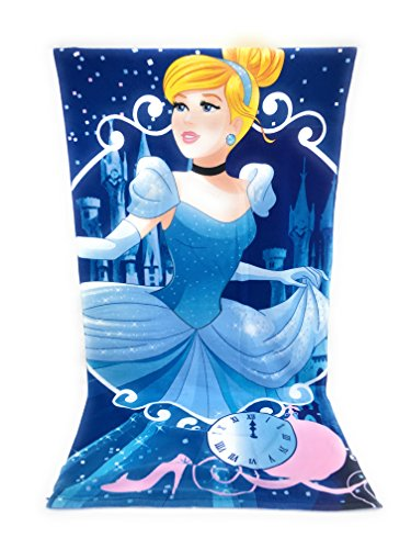Telo mare in microfibra – Principessa Disney Cenerentola - 70 x 140 cm
