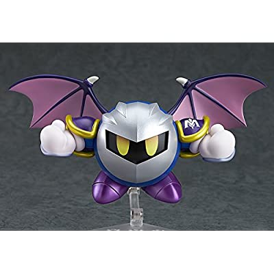 Good Smile Kirby's Dream Land: Meta Knight Nendoroid, Multicolor: Toys & Games