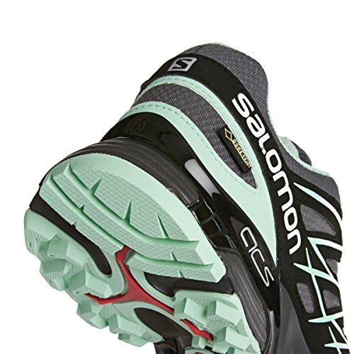 Salomon Wings Flyte GORE-TEX Womens Chaussure Course Trial - SS16 Gris