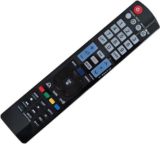 Mando a distancia portátil AKB73615309 Fácil usar Funcional Hogar Ligero TV Accesorios Sensible Duradero Estable Reemplazo ABS para LG: Amazon.es: Bricolaje y herramientas