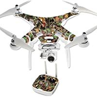 Skin For DJI Phantom 3 Professional – Buck Camo | MightySkins Protective, Durable, and Unique Vinyl Decal wrap cover | Easy To Apply, Remove, and Change Styles | Made in the USA