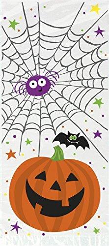 Pumpkin Pals Halloween Cellophane Bags, (Pumpkin Gift)