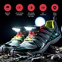 Night Runner and Night Trek Shoe Lights - For Running,...