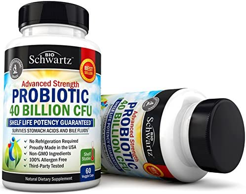Probiotic 40 Billion CFU Guaranteed Potency until Expiration - Patented Delay Release, Shelf Stable - Gluten Dairy Free Probiotics for Women & Men - Lactobacillus Acidophilus - No Refrigeration Needed 9
