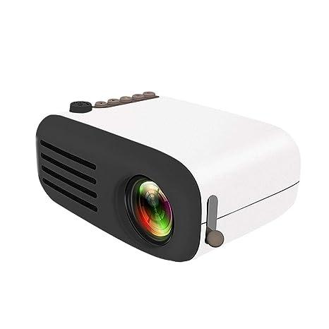 Hamkaw Mini Proyector Portátil, YG200 Full HD 1080p Pocket ...