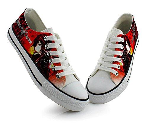 Sao Sword Art Online Kirito Asuna Cosplay Schoenen Canvas Schoenen Sneakers Kleurrijke 3 Keuzes Foto 3