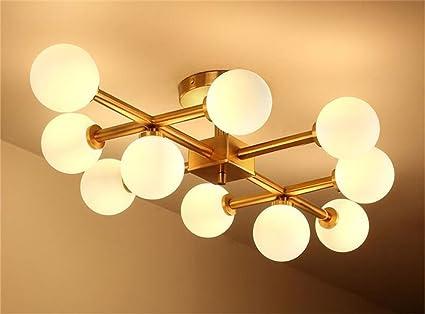 Wohnzimmerlampe Decke Modell : Dellt postmodern creative magic bean deckenleuchte nordic