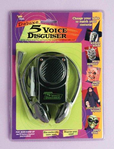 Voice Halloween Changer (Forum Novelties Voice Disguiser with Head Set, 10 Different)