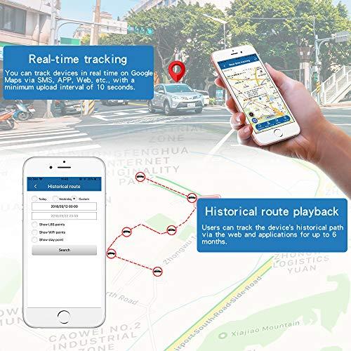 TKSTAR GPS Tracker ,Waterproof GPS Tracker for Car Real Time