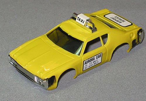 AURORA HO MAGNATRACTION MATADOR TAXI SLOT CAR BODY yellow -  Aurora Slot Cars, AURB1939Y