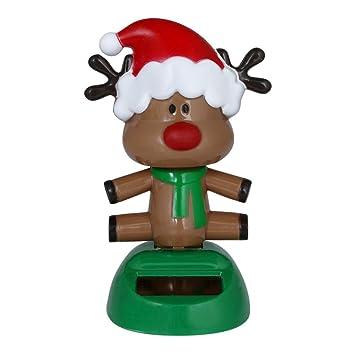 christmas decorationsblack friday sales promotions putars fashion solar powered dancing christmas swinging animated bobble